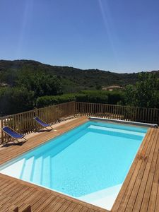 Villa with open views of the surrounding hills (land of 1400 m2)