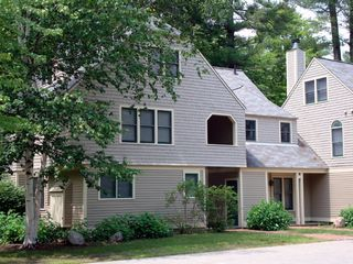 North Conway townhome photo - Brookside end unit townhouse in private setting