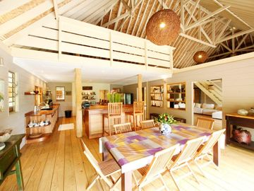Dining room - Villa Miki Miki - Vacation rental - Moorea