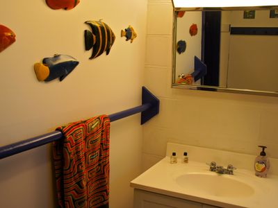 Basement 3 piece bathroom