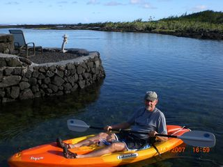Kapoho house photo - Swim, snorkel, or kayak in the crystal blue waters (two kayaks for your use).