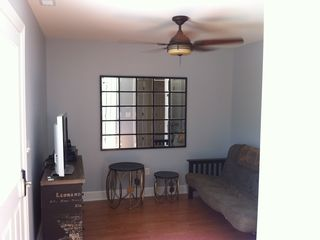 Second Floor Sitting Room with Queen Futon, walks out to back deck!