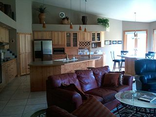 Kitchen / Dining Great Room - Pentwater house vacation rental photo
