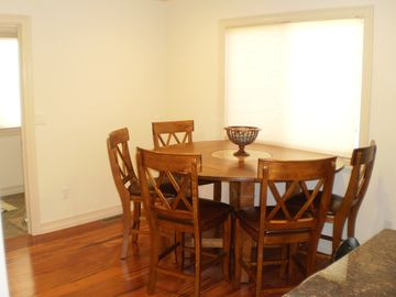 Dining Room Table Expands to Seat Eight