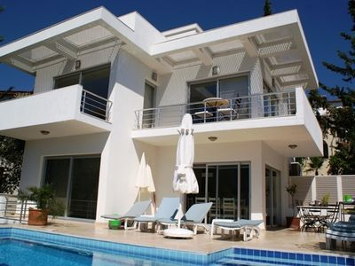 Kalkan villa rental - Villa & Pool Terrace