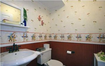 Powder room -- one of 3.5 baths