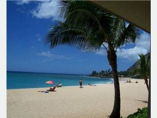 Makaha condo photo - Beautiful Uncrowded Beach View to Right