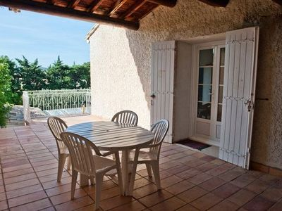 St-Saturnin-les-Avignon apartment rental - Huge terrace of Le 111 (3)