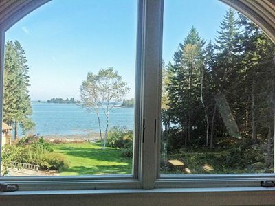 Tenants Harbor cottage rental - View from the Guest House bedroom