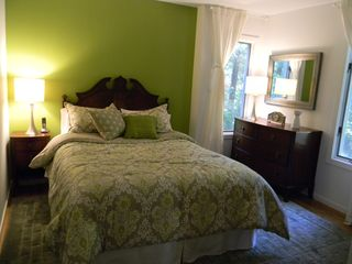 East Hampton house photo - Bedroom with queen-size bed