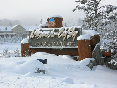 Big Sky Rental Condo in Mountain Village