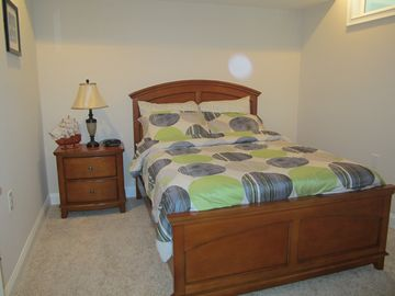 3rd bedroom double bed and a push out twin bed