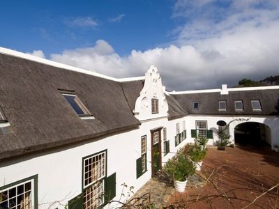 Constantia villa rental - House entrance