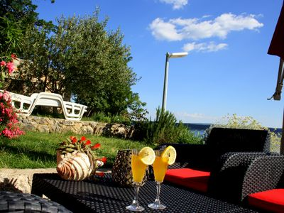 'MasVel' apartments in Maslenica, Zadar- 8 meters from the sea