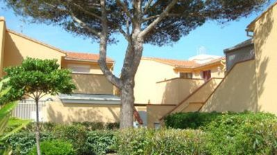 Apartment/ flat  + large terrace - LE BARCARES very close to the beach