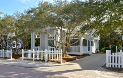 Front Exterior | Curphey's Cottage | Cottage Rental Agency- Seaside, FL