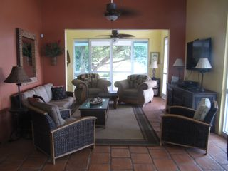 Vieques Island house photo - Living room.