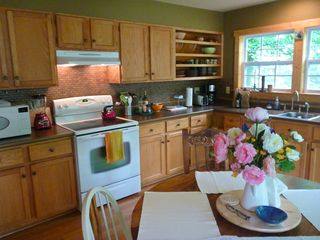 Swannanoa cabin photo - fully equipped kitchen