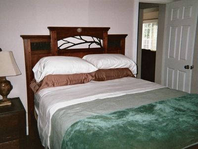 Two bedrooms with comfortable queen beds.