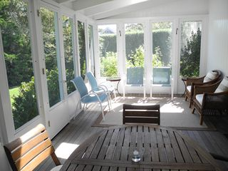 Bridgehampton house photo - Screen Porch opening off Dining Room and Kitchen