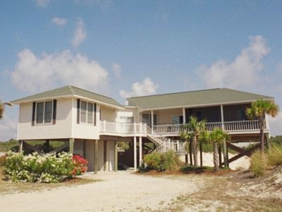 "St George Island house rental - ""Hang Ten"""