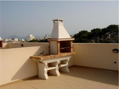 Boquer apartment rental - Roof terrace barbeque