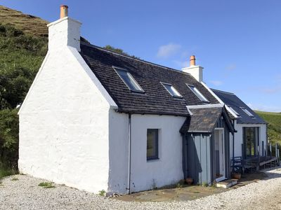 Beautiful converted croft house with stunning views
