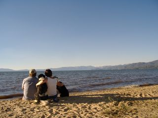 Al Tahoe cabin photo - Our family enjoying the Local's Beach.