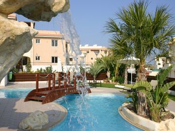 Tersefanou apartment rental - The pool