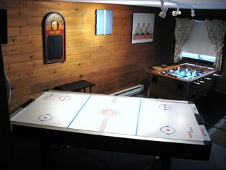 Locust Lake chalet photo - Game Room featuring Air Hockey, Foosball and Darts