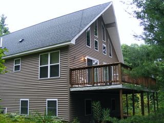 Conway house photo - Can't you picture enjoying your favorite beverage on this private deck!