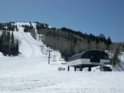 Deer Valley's Silver Lake Lift
