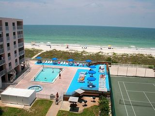 Indian Rocks Beach condo photo - View from top floor - beaches, the Gulf and all amenities