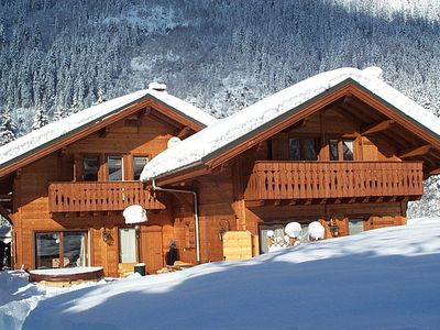 Chamonix chalet rental - Winter wonderland at Chalet Chocolat