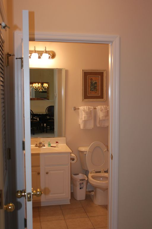lovely second bathroom