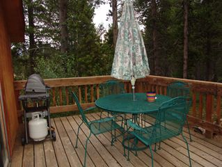 Breckenridge townhome photo - Deck with Table & Grill
