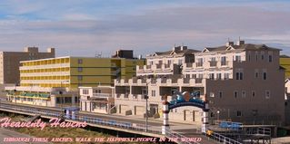 North Wildwood condo photo - 1600 Boardwalk By The Arch: Townhome Style: Top Two Floors!