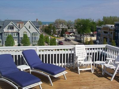 New Buffalo townhome rental - Rooftop Terrace