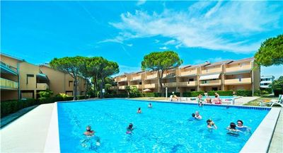 Apartment for 5 people, with swimming pool, in Bibione
