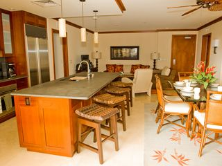 Ko Olina condo photo - Kitchen, Dining, and Living Room views from lanai
