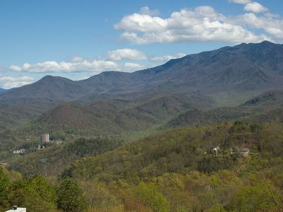 Mt. Leconte, Overlooking Gatlinburg