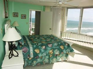 Daytona Beach condo photo - Oceanfront Master Suite w/ King Bed, Flat Screen TV & Bathroom