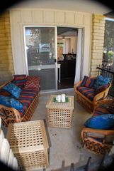 Old Town Scottsdale condo photo - Lower Front deck