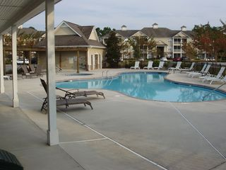 Calabash condo photo - Never crowded community pool and hot tub