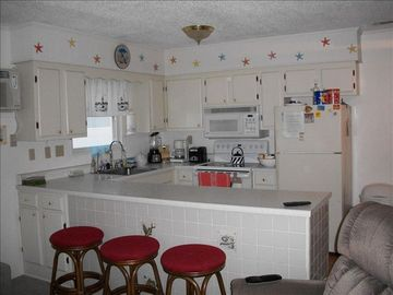 Fenwick Point Ocean City condo rental - Kitchen