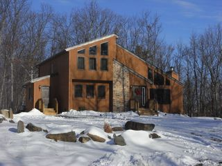 Bushkill chalet photo - winter