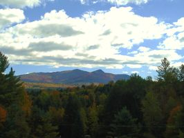 Welcome to Vermont. View from Guest house deck.