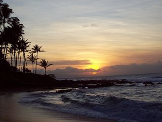 Napili condo photo - Beautiful Sunset at Napili Bay. A nightly occurrence.