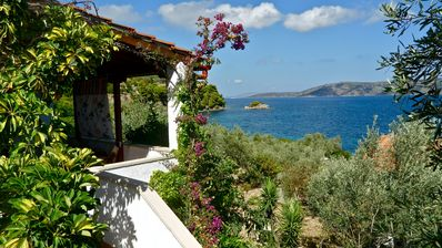 Flower Houses In Alonissos