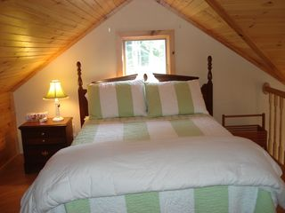 Beech Hill Pond house photo - Second floor bedroom with double bed